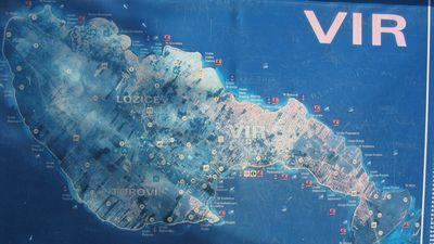 Mapa Ostrova Vir Ve Viru Mapy Cz