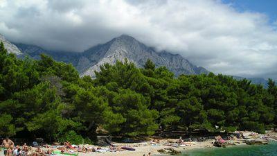 Chorvatsko Baska Voda Mapy Cz