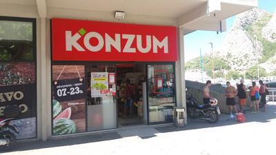 Konzum (Supermarket, smíšené zboží) • Mapy.cz