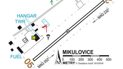 Letiste Mikulovice Lkmi Letiste Mapy Cz