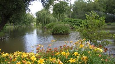 Stromovka Kralovska Obora Zahrada Park Mapy Cz
