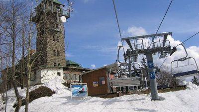 Ski Areal Tanvaldsky Spicak Skiareal Sjezdovky Mimo Provoz