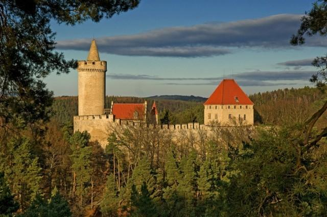 hrad Kokořín (autor: Petr Maryška, pořízeno 26. 12. 2009, zdroj: mapy.cz)